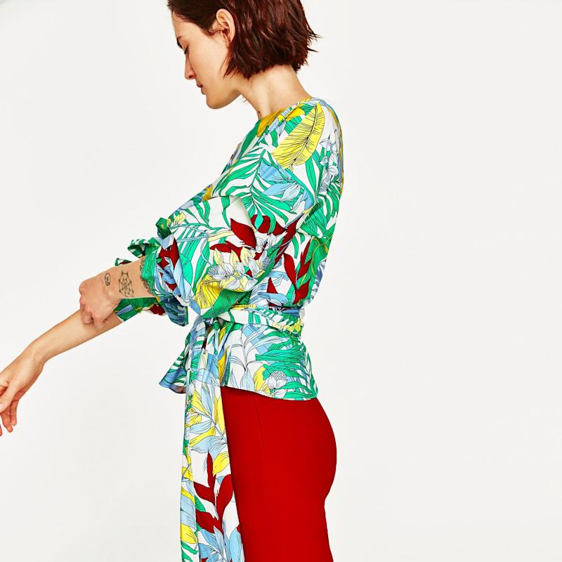The Best Summer Tops Come With Bell Sleeves, Belts, and Bows