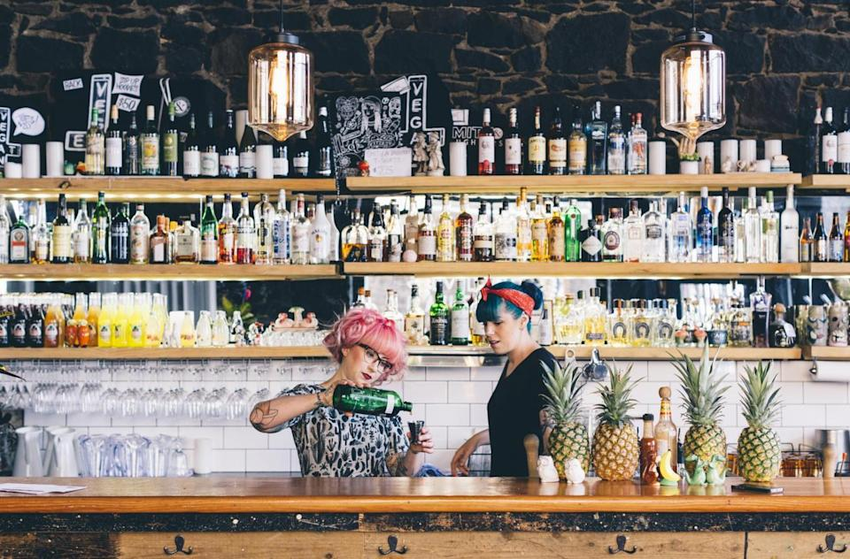 Behind the bar at Smith & Daughters (Nicole Reed/Smith & Daughters)