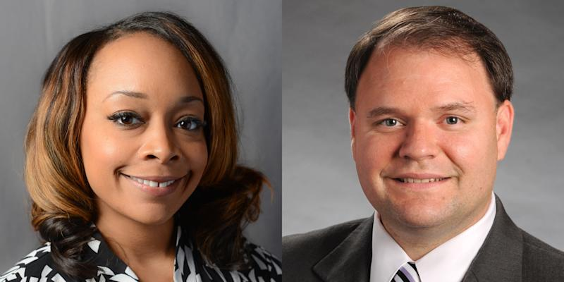 Images of former Georgia state Rep. LaDawn Jones and state Rep. Jason Spencer. (Georgia State House Of Representatives)