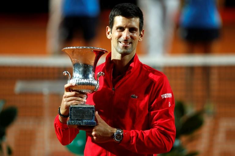 Djokovic back on track with fifth Rome title