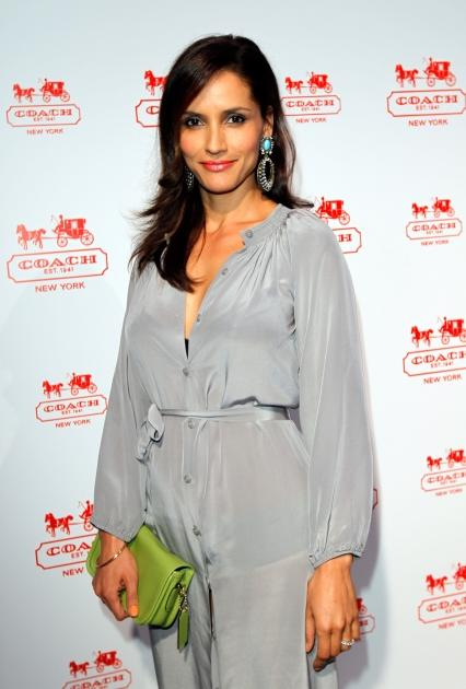 Leonor Varela attends an evening of cocktails and shopping to benefit the Children's Defense Fund hosted by Coach held at Bad Robot, Los Angeles, on May 23, 2012 -- Getty Premium