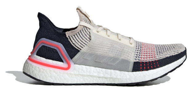 "<p><a rel=""nofollow"" href=""https://www.adidas.co.uk/ultraboost-19-shoes/B37705.html"">SHOP</a></p><p>It's here: the long-awaited reinvention of the Adidas Ultraboost with – prepare to gasp, have a sit down – 20% more boost! It's all down to the torsion spring, and that amount dizzying hop would be outright dangerous if it wasn't for the new 3D heel frame that provides optimal movement of the Achilles and a protective second skin fit.</p><p><a rel=""nofollow"" href=""https://www.adidas.co.uk/ultraboost-19-shoes/F35284.html"">adidas, £159,95</a></p>"