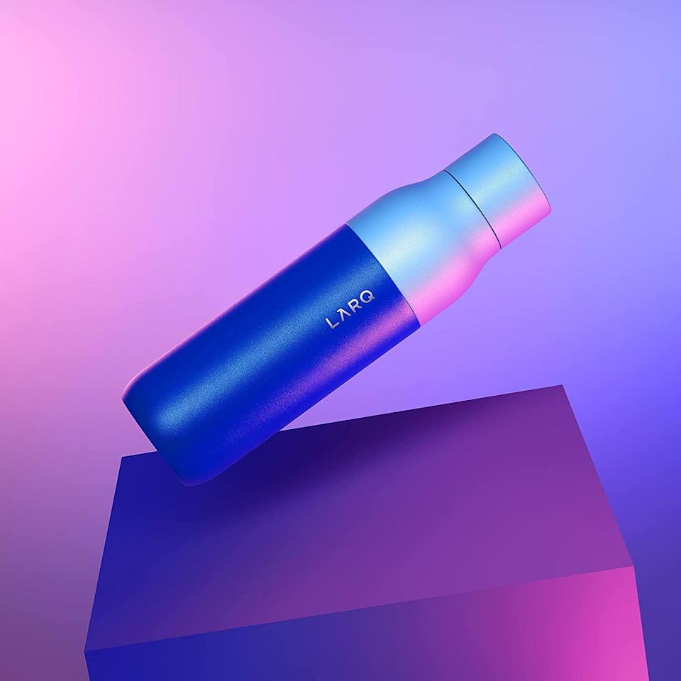 <p><span>LARQ Bottle DG23 Edition</span> ($118) is an insulated self-cleaning stainless steel water bottle that uses a UV water sanitizer.</p>