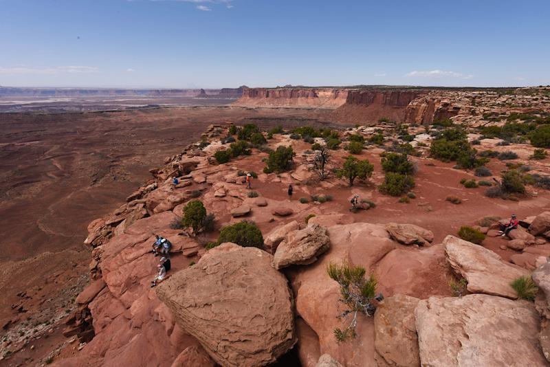 Image: Grand View Point Overlook at Canyonlands National Park (Mark Ralston / AFP via Getty Images)