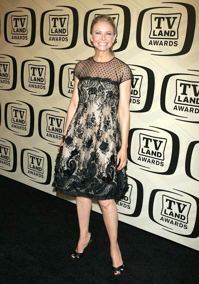Faith Ford arrives at the 10th Annual TV Land Awards at the Lexington Avenue Armory on April 14, 2012 in New York City.