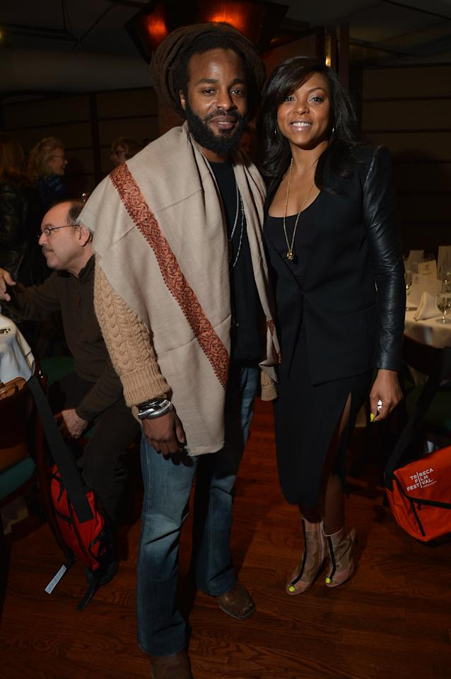 NEW YORK, NY - APRIL 18:  Recording Artist John Forte and actress Taraji P. Henson attend the Juror Welcome Lunch during the 2013 Tribeca Film Festival at Tribeca Grill Loft on April 18, 2013 in New York City.  (Photo by Mike Coppola/Getty Images)