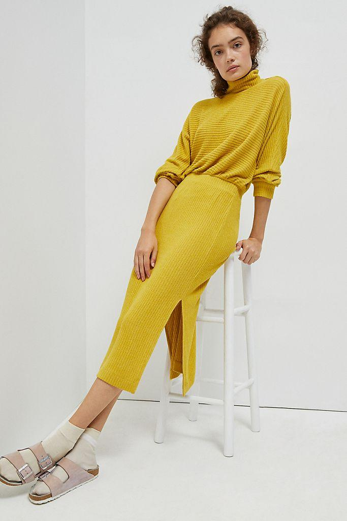 "<br><br><strong>Saturday/Sunday Anthropologie</strong> Mariah Ribbed Knit Maxi Dress, $, available at <a href=""https://go.skimresources.com/?id=30283X879131&url=https%3A%2F%2Fwww.anthropologie.com%2Fshop%2Fmariah-ribbed-knit-maxi-dress%3F"" rel=""nofollow noopener"" target=""_blank"" data-ylk=""slk:Anthropologie"" class=""link rapid-noclick-resp"">Anthropologie</a>"