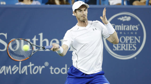 "Andy Murray's 22-match winning streak was ended by Marin Cilic, but the Scot said he is ""mentally in a good place""."