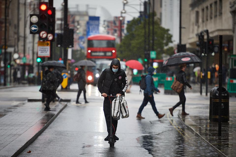 More than 500 e-scooters are taken off London streets in police crackdown (Getty Images)