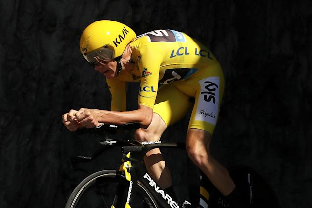 Chris Froome has won four Tour de France titles with Team Sky. (Credit: Getty Images)
