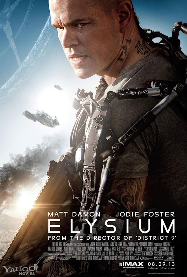 "Matt Damon stars in TriStar Pictures' ""Elysium"" - 2013"