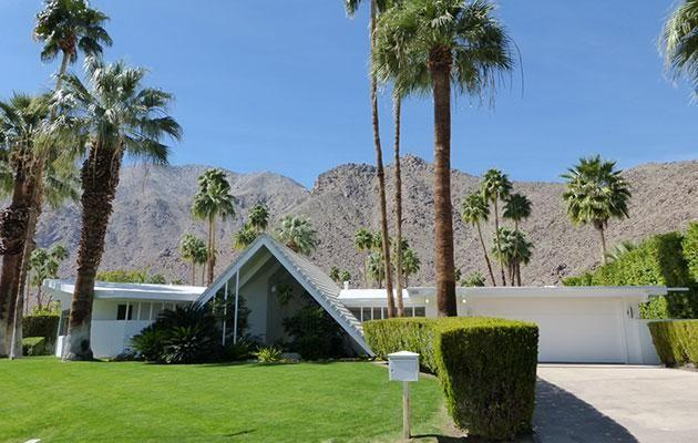 Cruise through the streets of Palm Spring for an insight into its unique architecture. Photo: Getty images
