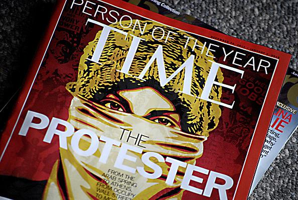 """The Protester - """"Time"""" Person of the Year 2011"""