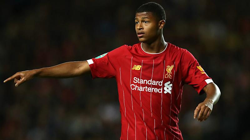 Liverpool's Brewster loaned to Swansea for remainder of season