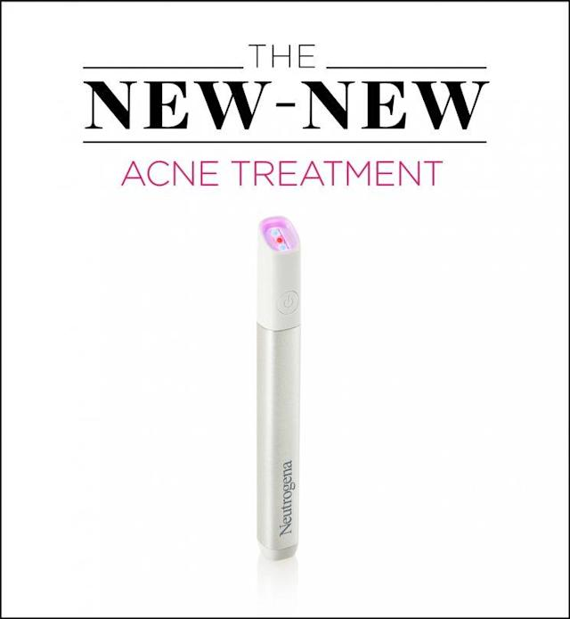 Neutrogena's new Light Therapy Acne Spot Treatment is a lifesaver for acne sufferers. (Photo: Neutrogena)