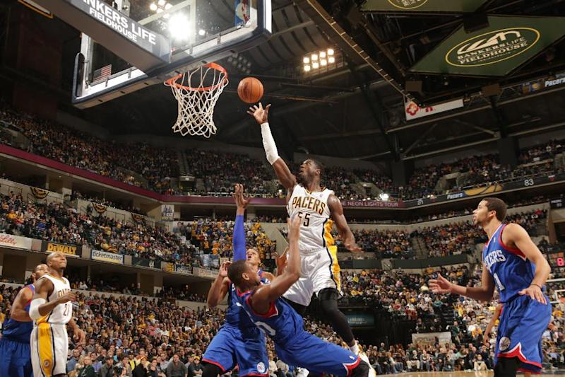 Pacers beat short-handed 76ers 106-98