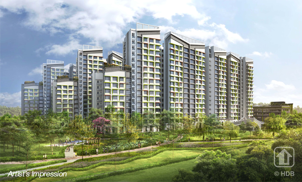 September BTO Tampines GreenGlen Artist Impression