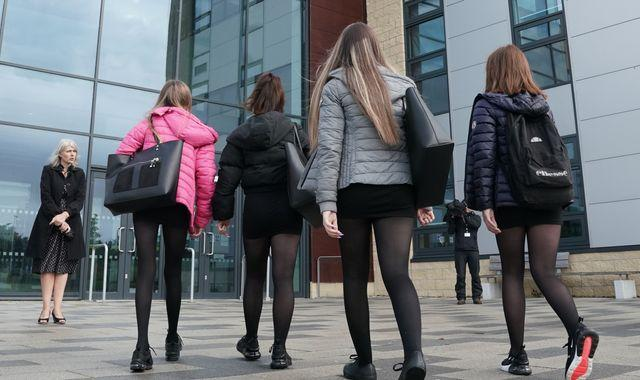Coronavirus: Secondary school pupils may have to wear face coverings in Scotland