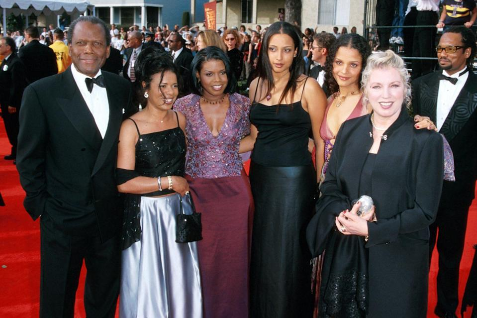 <p>With his family at the 6th annual Screen Actors Guild Awards in 1999.</p>