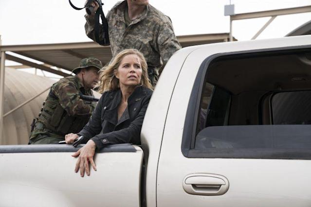 Kim Dickens as Madison Clark in AMC's 'Fear the Walking Dead' (Photo Credit: Michael Desmond/AMC)