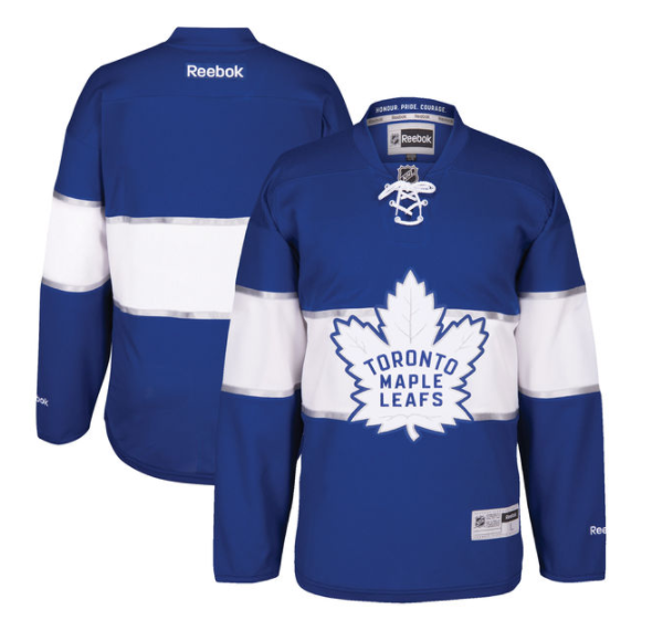 The Maple Leafs' uniforms for the Centennial Classic are slick. (NHL.com)