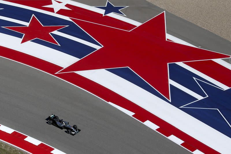 FILE PHOTO: Formula One F1 - U.S. Grand Prix - Circuit of the Americas, Austin, Texas, U.S.