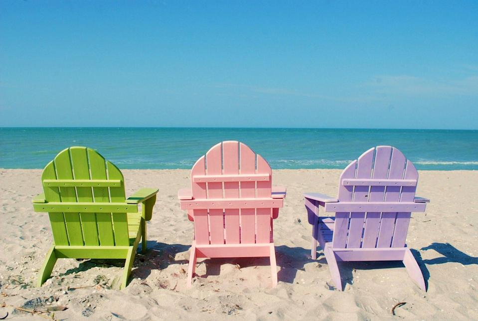 """<p>Funky, quirky <a href=""""http://sanibel-captiva.org/"""" rel=""""nofollow noopener"""" target=""""_blank"""" data-ylk=""""slk:Captiva Island"""" class=""""link rapid-noclick-resp"""">Captiva Island</a> has a distinct artsy vibe—exactly the kind you might expect to find in the Caribbean—and the beaches are pure perfection. Legend has it that renegade pirate Jose Gaspar built a prison on """"Isle de los Captivas"""" in the early 1800's where he kept prisoners """"captive"""" for ransom. Today, you'll wish you had the lock and key to throw away so you can stay in this island haven forever.</p>"""