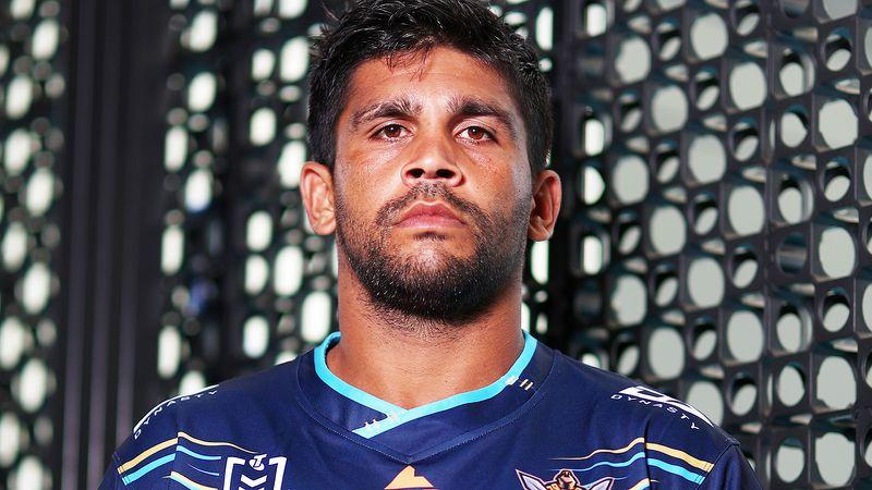 Pictured here, Gold Coast Titans star Tyrone Peachey.