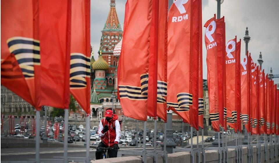 The annual parade in Moscow to mark Russia's victory in the second world war has been postponed. Photo: AFP