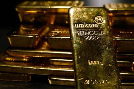Gold prices little changed with Jackson Hole in focus