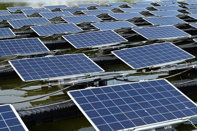 Singapore is using water-based panels to boost its solar energy use four-fold to around two percent of the city's power needs by 2025