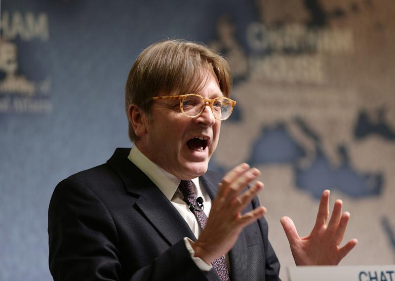 European Parliament Brexit co-ordinator Guy Verhofstadt. (PA Wire/PA Images)