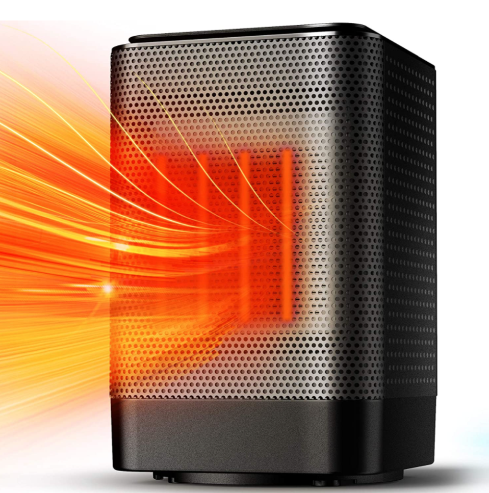 ALROCKET Oscillating Space Heater (Photo via Amazon)