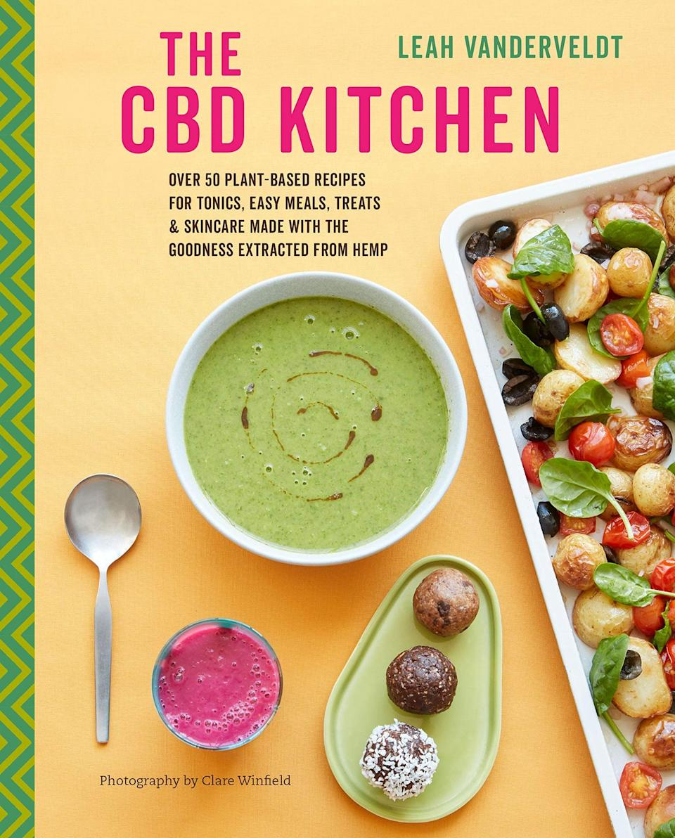 <p>If you are plant based, you'll love the <span>The CBD Kitchen by Leah Vanderveldt </span> ($12). It has over 50 plant-based recipes with smoothies, teas and coffees, snacks and desserts, light savory meals, and even skin care. </p>