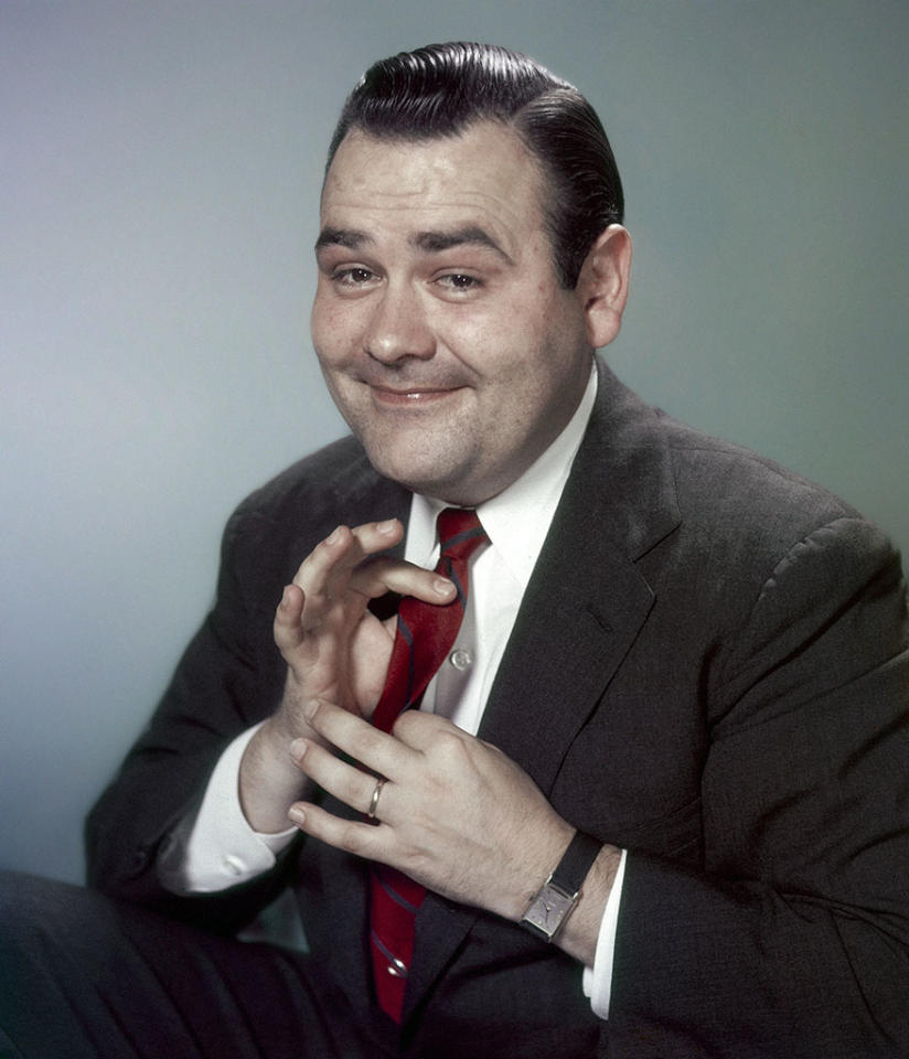 Jonathan Winters, US comedian and actor, circa 1960.