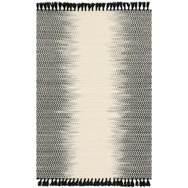 Joanna Gaines Pier 1 Black and White Rug