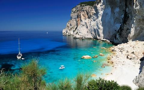 Paxos offers sophisticated escapism - so bring some friends along if you don't want to be too lonely - Credit: Getty