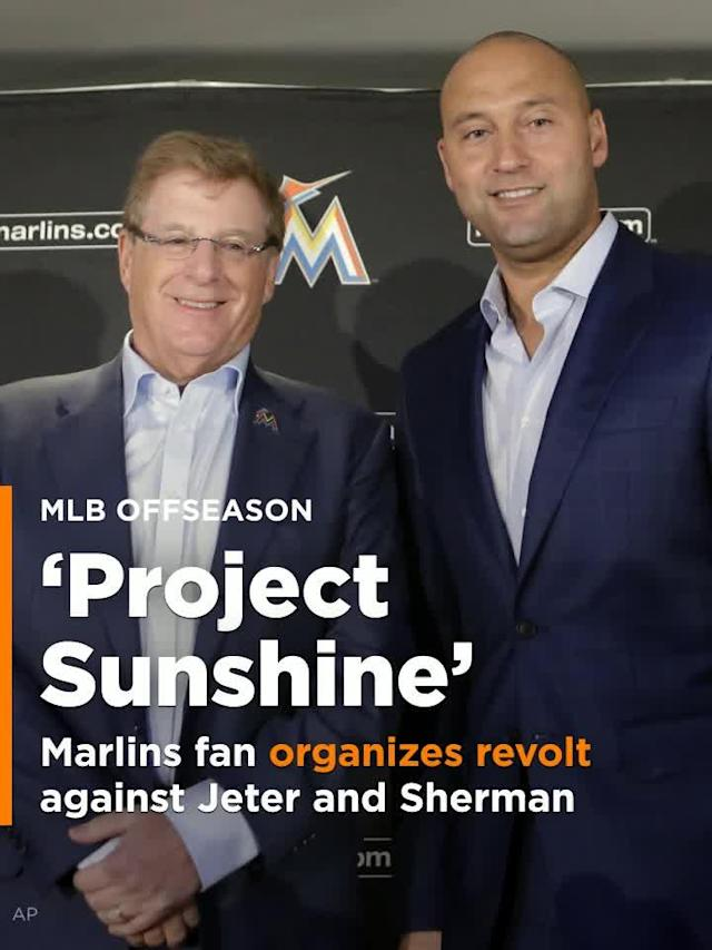 Marlins fan organizes revolt against Derek Jeter and Bruce Sherman