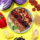 "<p>There are so many great vegan food companies out there, we're spoilt for choice (didn't think we'd ever say that!). New to the game is Planty, a delivery service that brings frozen meals to your door.</p><p>Each delicious dinner is completely plant sourced, with most meals making up three of that ever-important (immune systems, people!_ 5-a-day quota. Choose from creamy pasta dishes without the cream, burrito bowls, warm curries and luxe risottos. </p><p>Planty starts from £4.95 per meal and you can opt for a subscription or just a one off box.</p><p>All of the packaging included is recyclable and the company offset the C02 emissions made with every delivery. </p><p><a class=""link rapid-noclick-resp"" href=""https://planty.uk/"" rel=""nofollow noopener"" target=""_blank"" data-ylk=""slk:SHOP HERE"">SHOP HERE</a></p><p><a href=""https://www.instagram.com/p/B94ddWFKOZu/?utm_source=ig_embed&utm_campaign=loading"" rel=""nofollow noopener"" target=""_blank"" data-ylk=""slk:See the original post on Instagram"" class=""link rapid-noclick-resp"">See the original post on Instagram</a></p>"