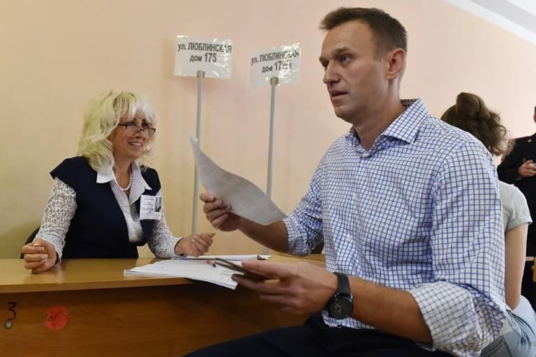 Navalny and his allies organised protests after opposition politicians were barred from standing in the Moscow parliament election in September