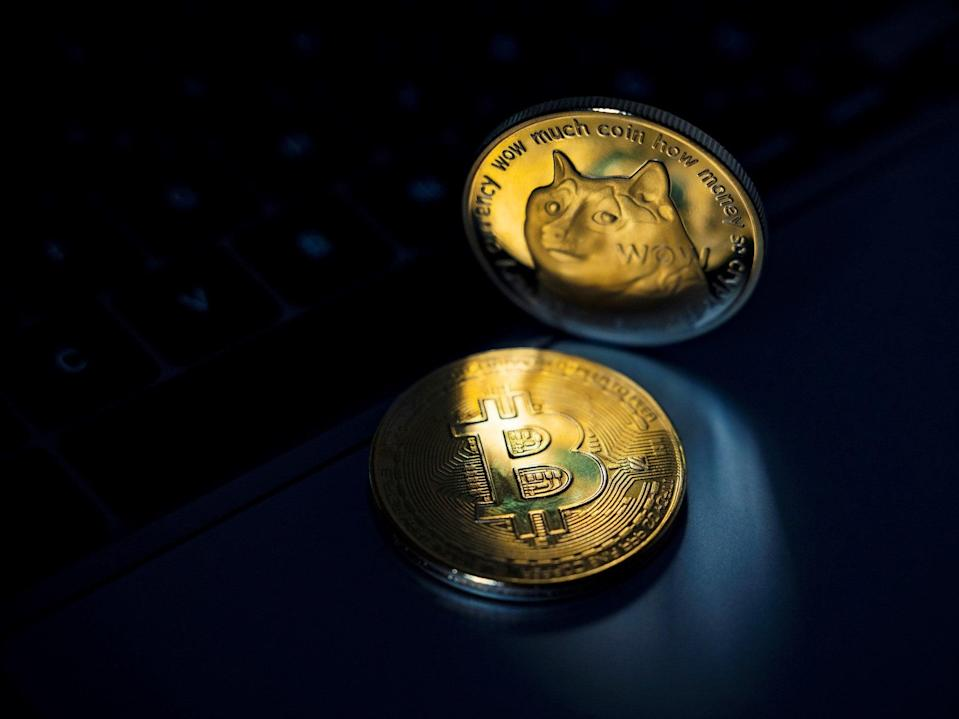 Dogecoin lost more than a third of its value between 15-22 June, 2021 (Getty Images)