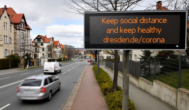 Germany set to extend social distancing until at least end of Easter holidays: report
