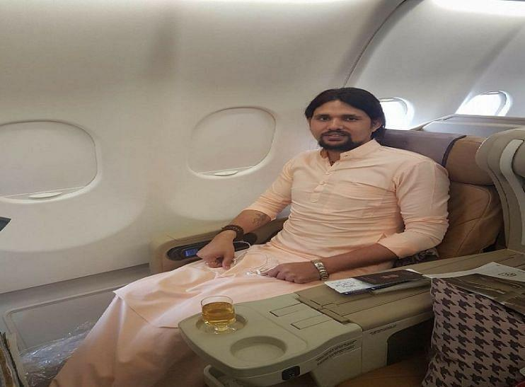 """<div class=""""paragraphs""""><p>A file picture of Anand Giri in a chartered plane </p></div>"""