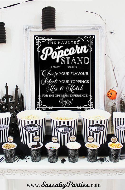 "<p>Invite friends and family over for a scary movie marathon this October. Wondering what you should watch? Check out our <a href=""https://www.countryliving.com/life/entertainment/g3624/best-halloween-movies/"" rel=""nofollow noopener"" target=""_blank"" data-ylk=""slk:favorite Halloween films of all time"" class=""link rapid-noclick-resp"">favorite Halloween films of all time</a> and <a href=""https://www.countryliving.com/life/g21098784/kids-halloween-movies-on-netflix/"" rel=""nofollow noopener"" target=""_blank"" data-ylk=""slk:the best kid-friendly options"" class=""link rapid-noclick-resp"">the best kid-friendly options</a> you can stream at home.</p><p><strong>Get ideas at <a href=""https://www.sassabyparties.com/blog/halloween-horror-movie-party"" rel=""nofollow noopener"" target=""_blank"" data-ylk=""slk:The Sassaby Party Co"" class=""link rapid-noclick-resp"">The Sassaby Party Co</a>.</strong></p><p><a class=""link rapid-noclick-resp"" href=""https://www.amazon.com/Set-100-Popcorn-Favor-Boxes/dp/B07D8P9TRC/ref=sr_1_4?tag=syn-yahoo-20&ascsubtag=%5Bartid%7C10050.g.4620%5Bsrc%7Cyahoo-us"" rel=""nofollow noopener"" target=""_blank"" data-ylk=""slk:SHOP POPCORN BOXES""><strong>SHOP POPCORN BOXES</strong> </a></p>"