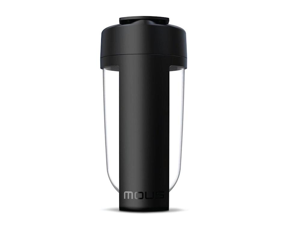 <p>The <span>Mous Shaker</span> ($30) packs a big punch. It's so much more than a container for your water or smoothie. Its unique round bottom and modular design make it supereasy to clean, which minimizes bacteria accumulation. Staying hydrated has never been cleaner! </p>