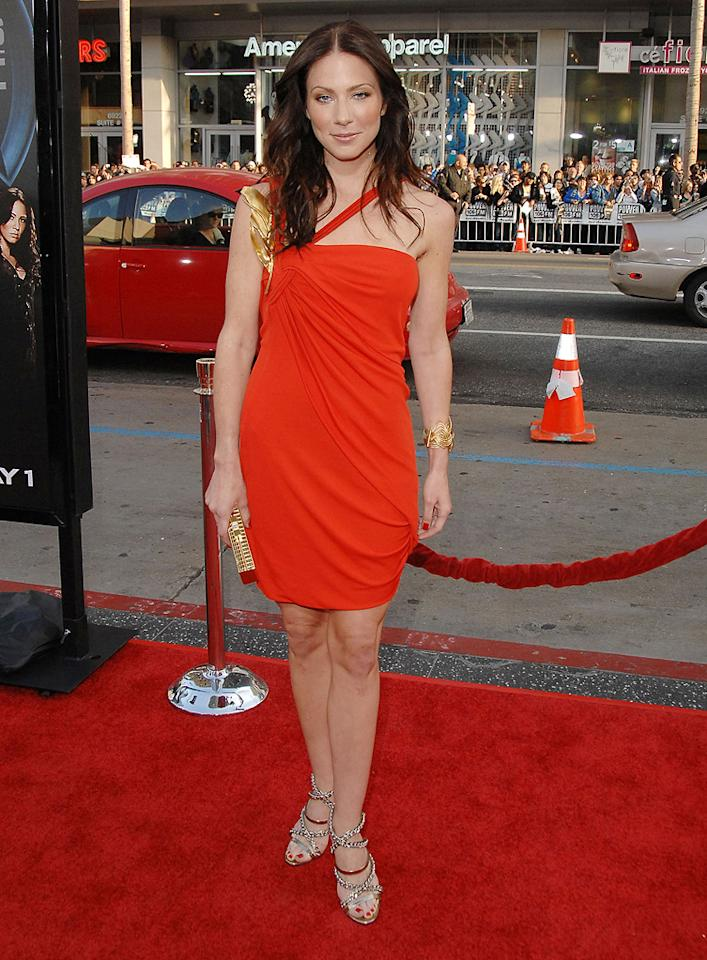 "<a href=""http://movies.yahoo.com/movie/contributor/1807577712"">Lynn Collins</a> at the Los Angeles premiere of <a href=""http://movies.yahoo.com/movie/1808665084/info"">X-Men Origins: Wolverine</a> - 04/28/2009"