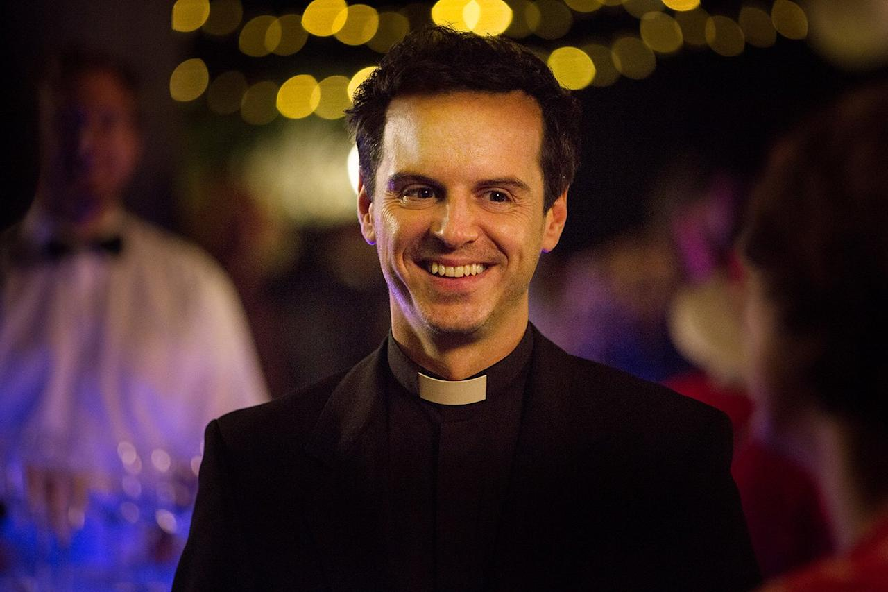 """This is Andrew Scott. He's an Irish actor who's having a bit of a moment because of a <a href=""""https://people.com/tv/10-best-tv-shows-2019/"""">not-so-little show called<em>Fleabag</em></a>."""
