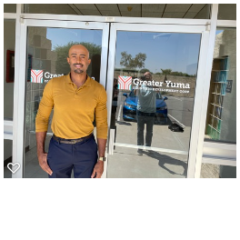 """Greg LaVann is the """"economic architect"""" for Greater Yuma Economic Development Corp. He says the city has an """"underemployment problem,"""" and has grown tremendously in the past few years."""