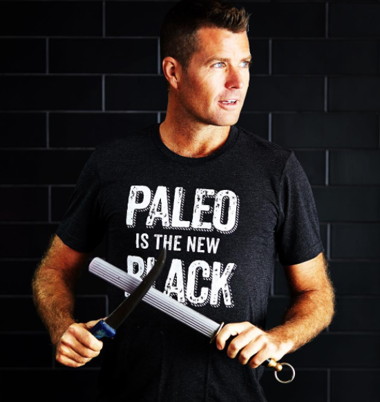 Dr. Funk's claims were likened to that of Aussie Paleo chef Pete Evans. Source: Instagram