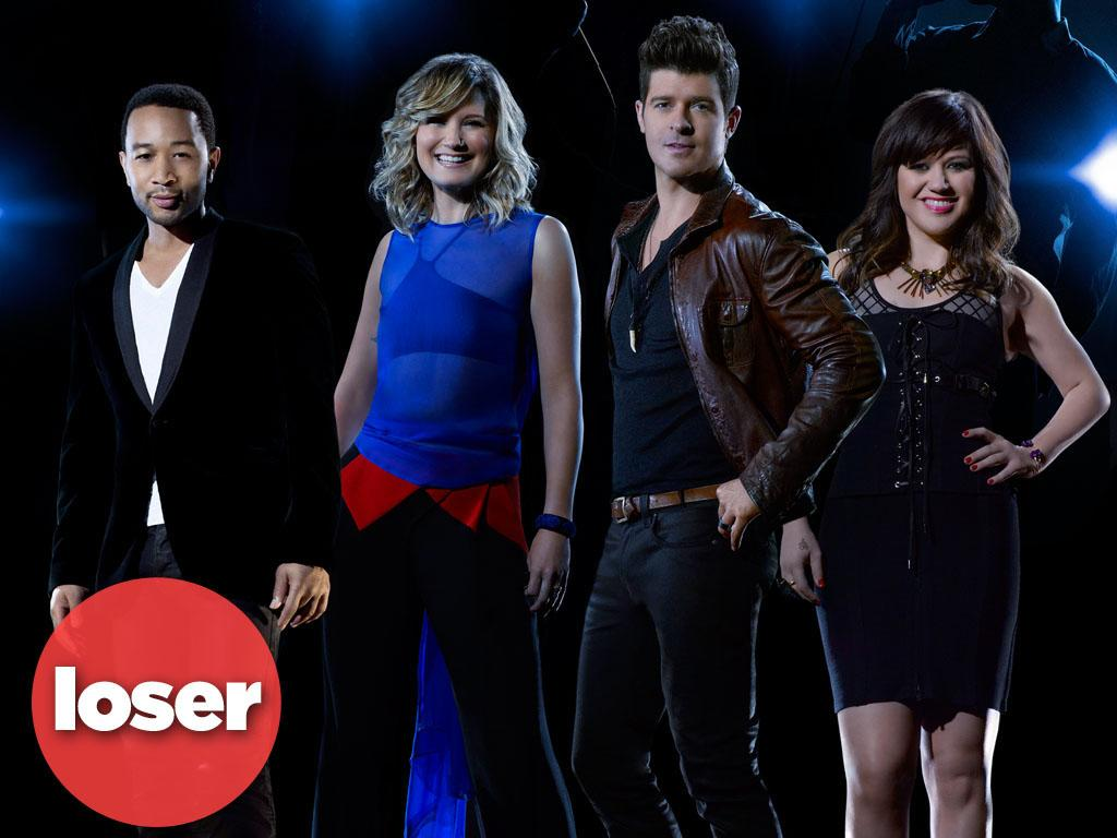 "<b>LOSER: ""Duets"" (ABC) </b><br><br>Looks like we've finally reached the saturation point with TV singing competitions. ABC had high hopes for ""Duets,"" which pairs established singers like Kelly Clarkson and John Legend with unknown vocalists. But it hit a flat note with viewers, with only 6.7 million tuning in for the debut performance -- less than half the audience ""The Voice"" and ""The X Factor"" scored in their premieres. And it's gone steadily downhill ever since, with last week's installment sinking to just 4.2 million viewers. Guess Lionel Richie got out at the right time, huh?"